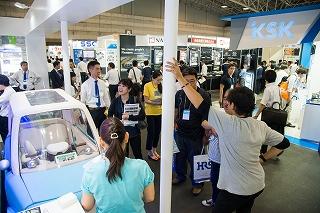 ▲6月に開催された「人と車のテクノロジー展・名古屋」約4万人が来場した