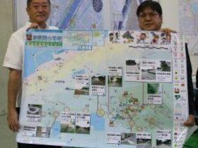 避難経路確認地図
