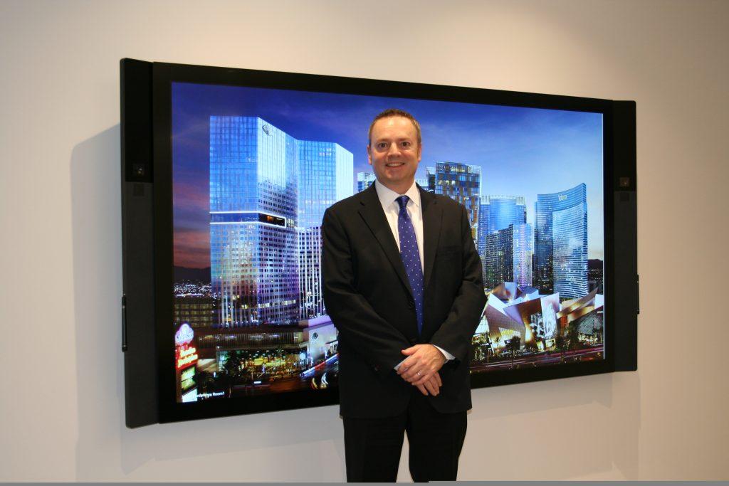 ▲ラスベガスに本社を置くMGMリゾーツの日本法人CEOのエド・バワーズ氏は、「日本人の考え方と合わないIRが政府に承認されることはない」と考える