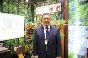 ▲植杢(滋賀県高島市)上田誠社長(52)