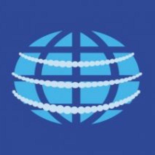 国際イベントニュースのアイコンである地球儀のイラスト