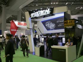 東京モーターショーのブース写真