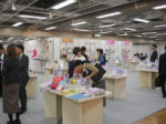 東京ファッショングッズトレードショーの会場写真